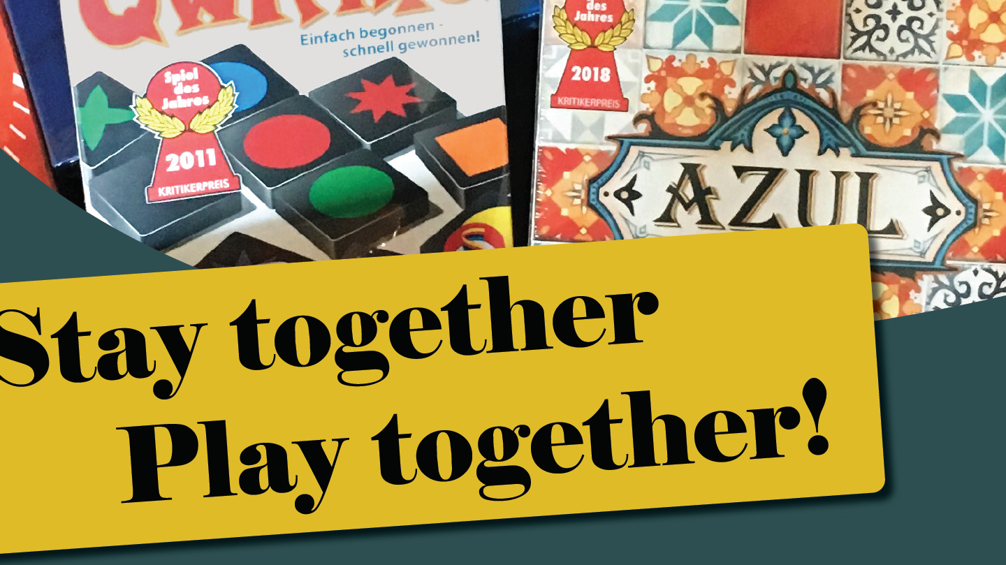 Stay together play together,
